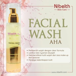 Nibelth Facial Wash AHA