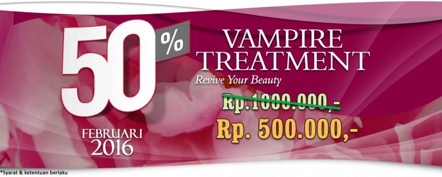 Promo 50% Vampire Treatment